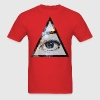 Pyramid Eye T-Shirts - Men's T-Shirt