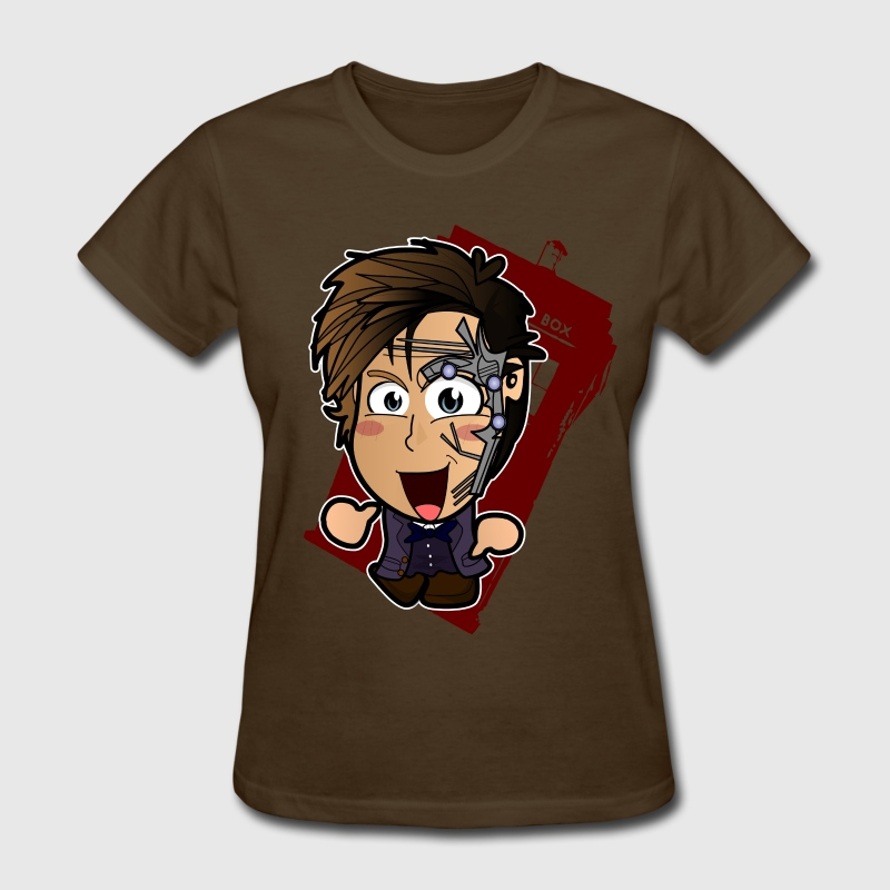 Chibi Doctor Who - Mr Clever Shirt (Female) - Women's T-Shirt