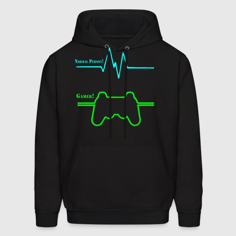 Normal Person Vs Gamer Hoodie Spreadshirt