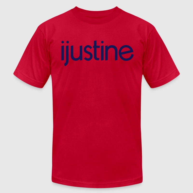 ijustine  T-Shirts - Men's T-Shirt by American Apparel