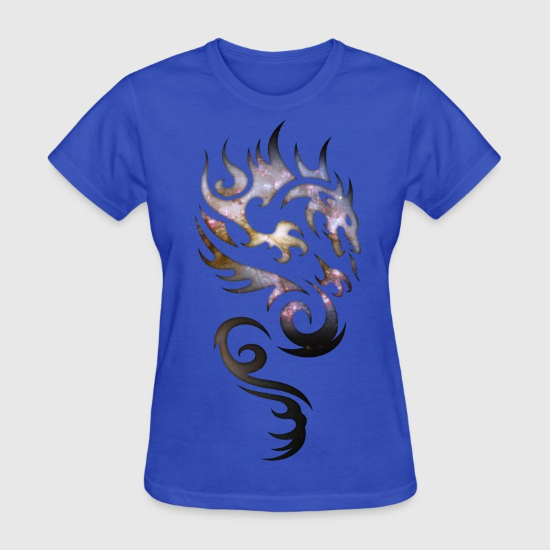 Cosmic Tribal Dragon Women's T-Shirts - Women's T-Shirt