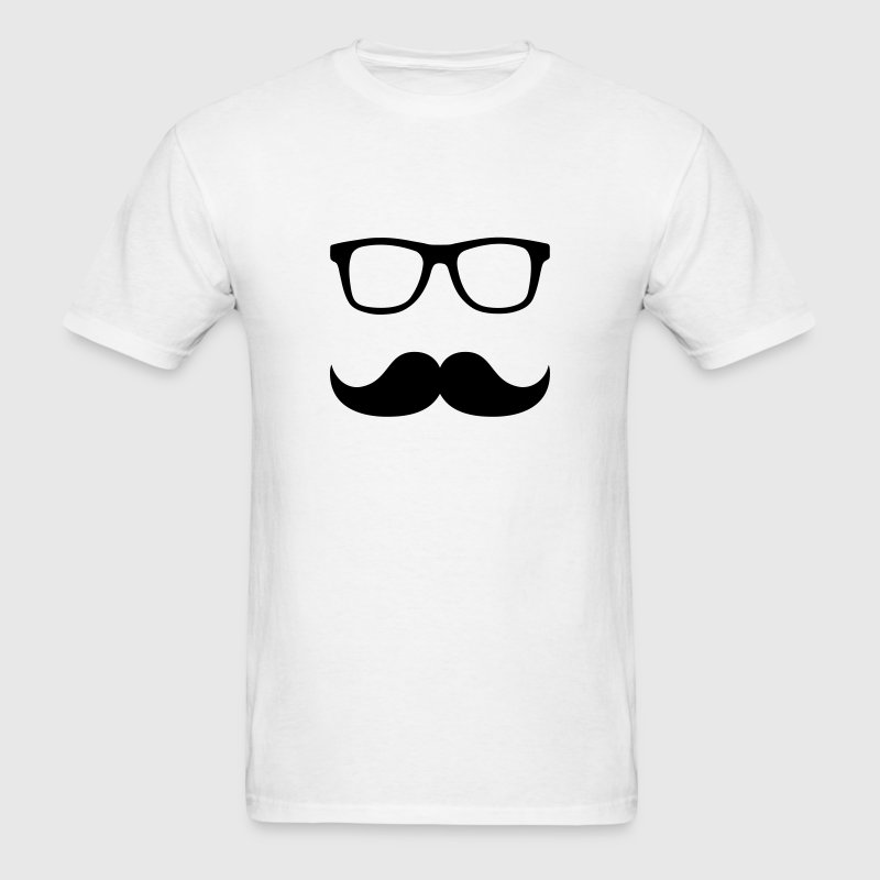 Mustache Glasses T-Shirts - Men's T-Shirt