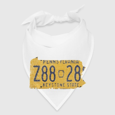 Pennsylvania State License Plate Accessories - Bandana