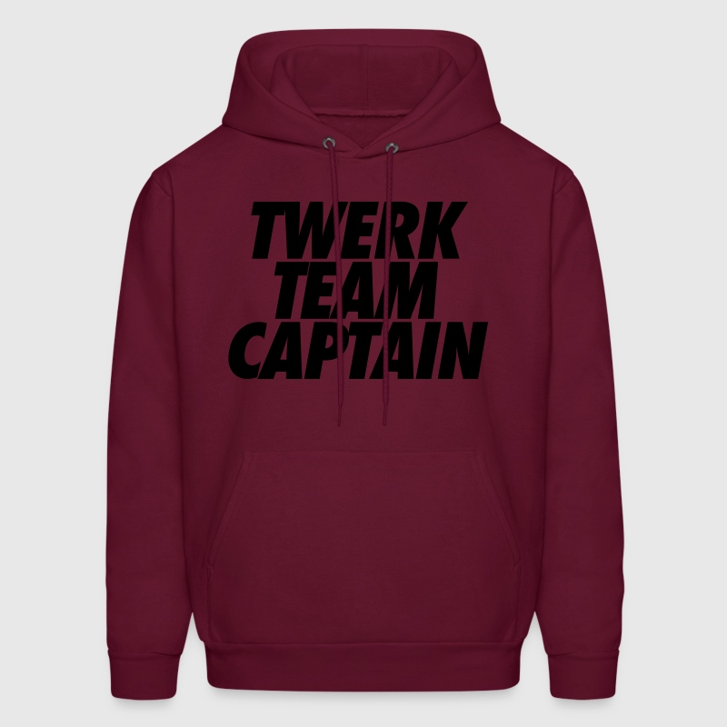 Twerk Team Captain Hoodies - Men's Hoodie
