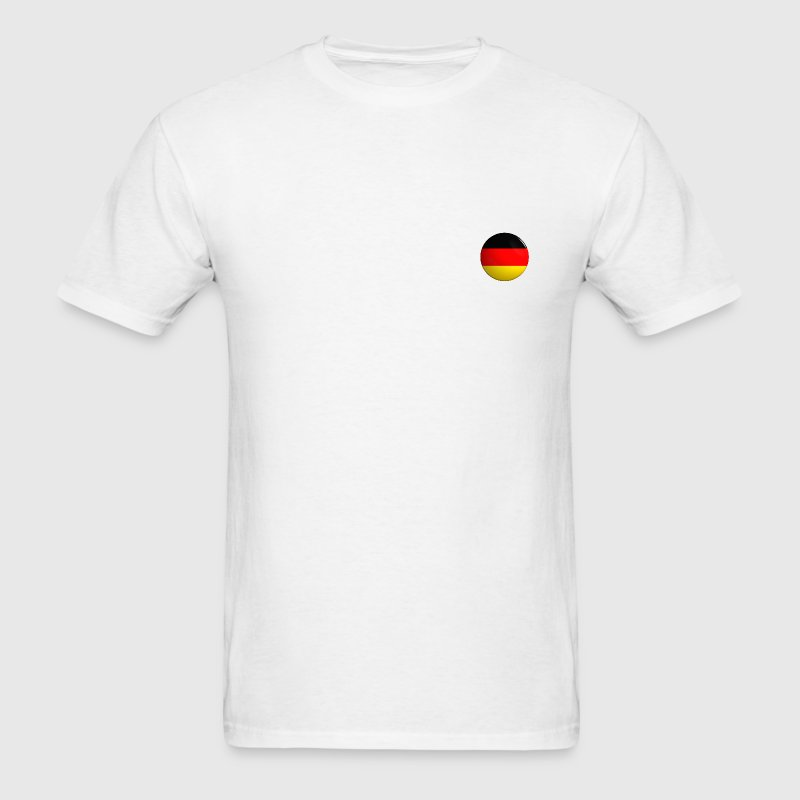 Country Button Flag Germany - Men's T-Shirt