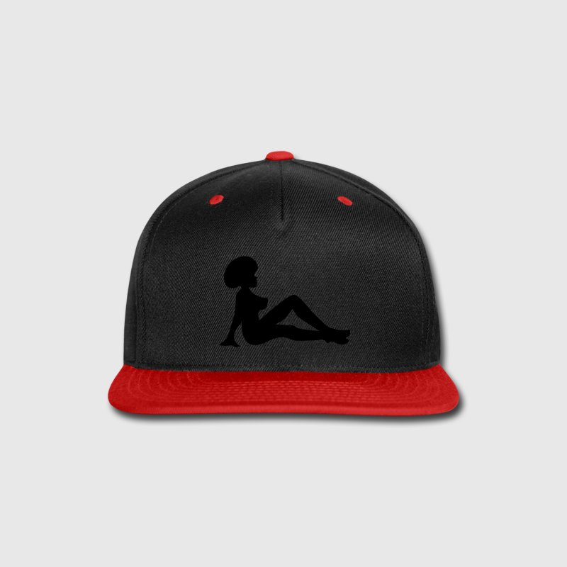 Afro Mudflap Girl Caps - Snap-back Baseball Cap
