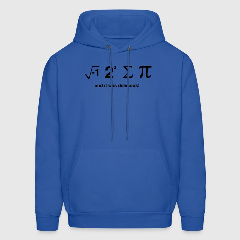I Ate Sum Pi and it was Delicious Hoodies - Men's Hoodie