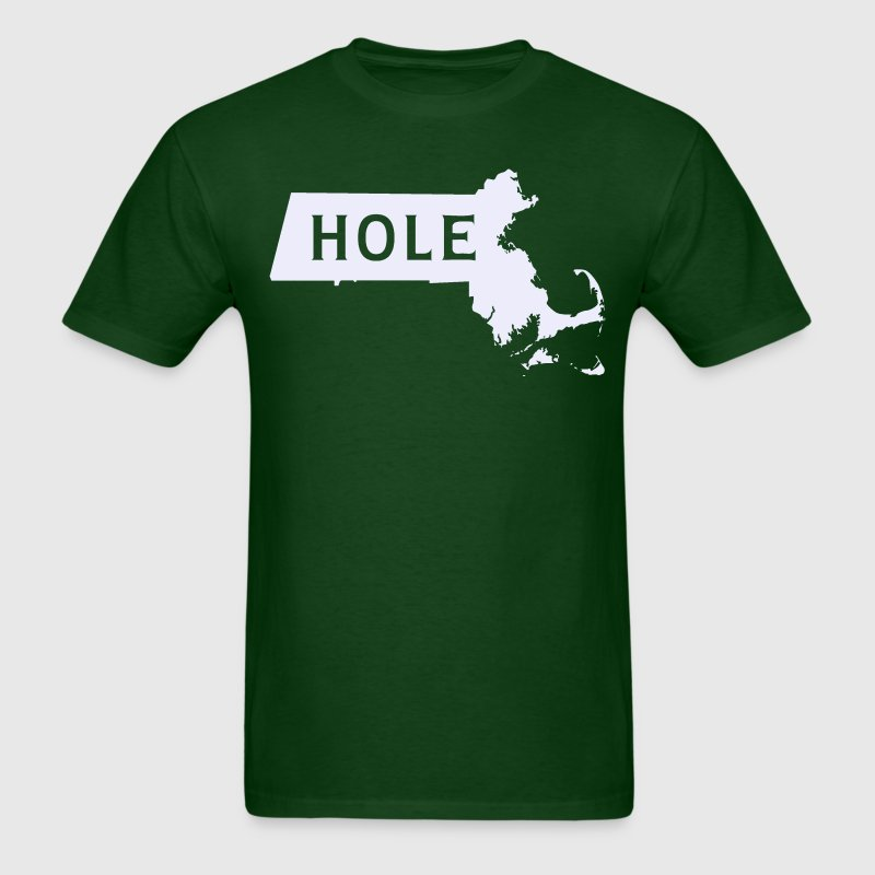 Mass hole Massachusetts T-Shirts - Men's T-Shirt