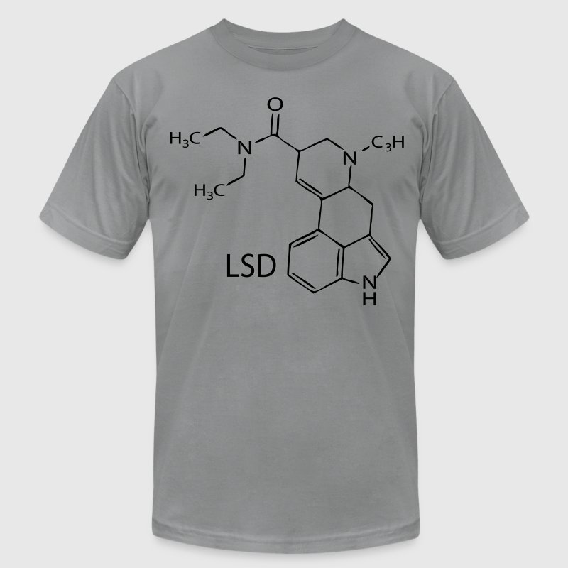 lsd compound T-Shirts - Men's T-Shirt by American Apparel