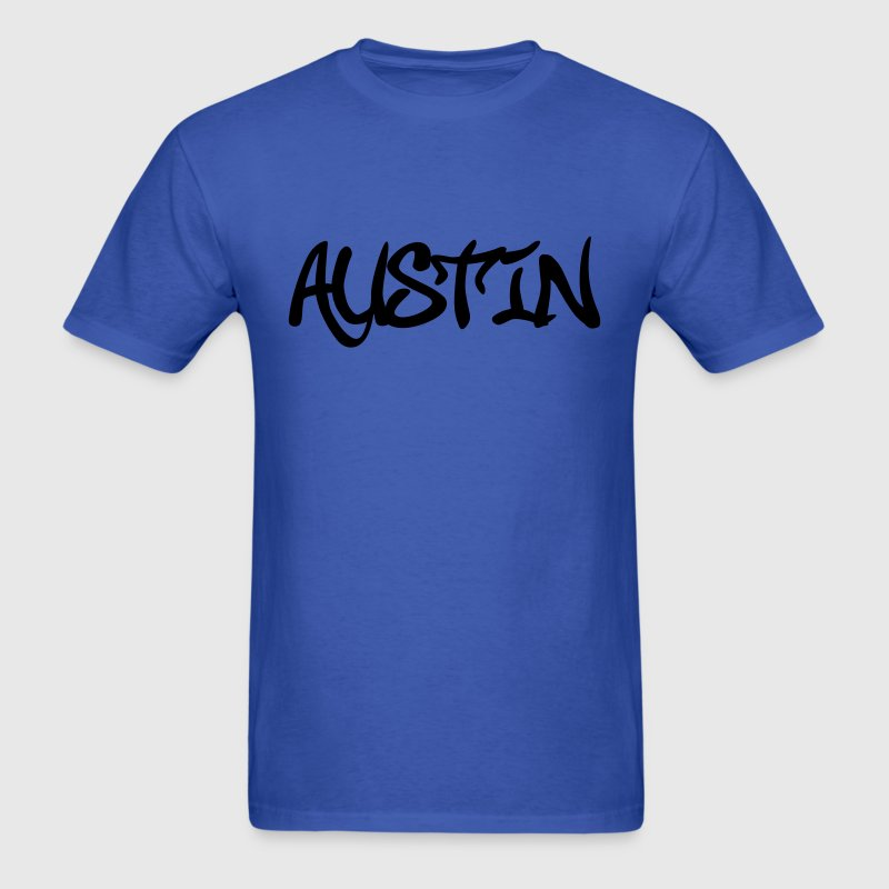 Austin graffiti T-Shirts - Men's T-Shirt