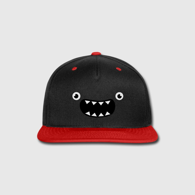 Funny Monster Face Caps - Snap-back Baseball Cap