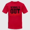 school's out forever T-Shirts - Men's T-Shirt by American Apparel
