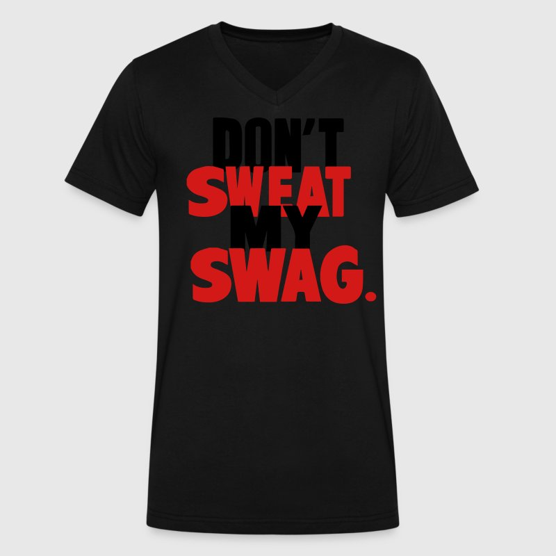 Don 39 t sweat my swag t shirt spreadshirt for T shirts that don t show sweat