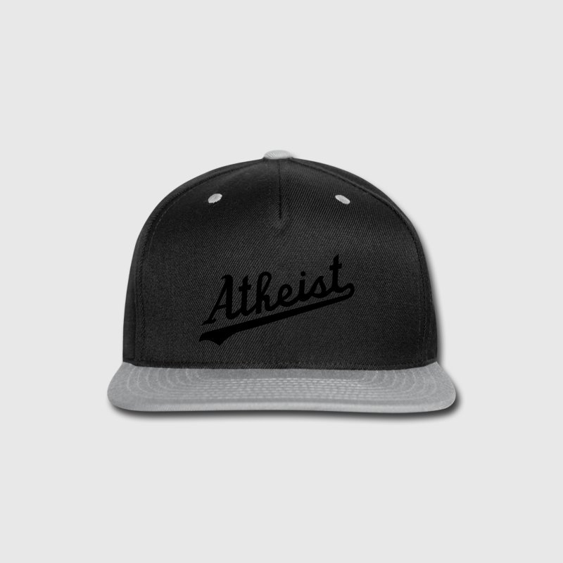 Team Atheist Baseball Cap by Tai's Tees - Snap-back Baseball Cap