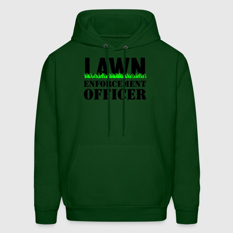Lawn Enforcement Officer Hoodies - Men's Hoodie