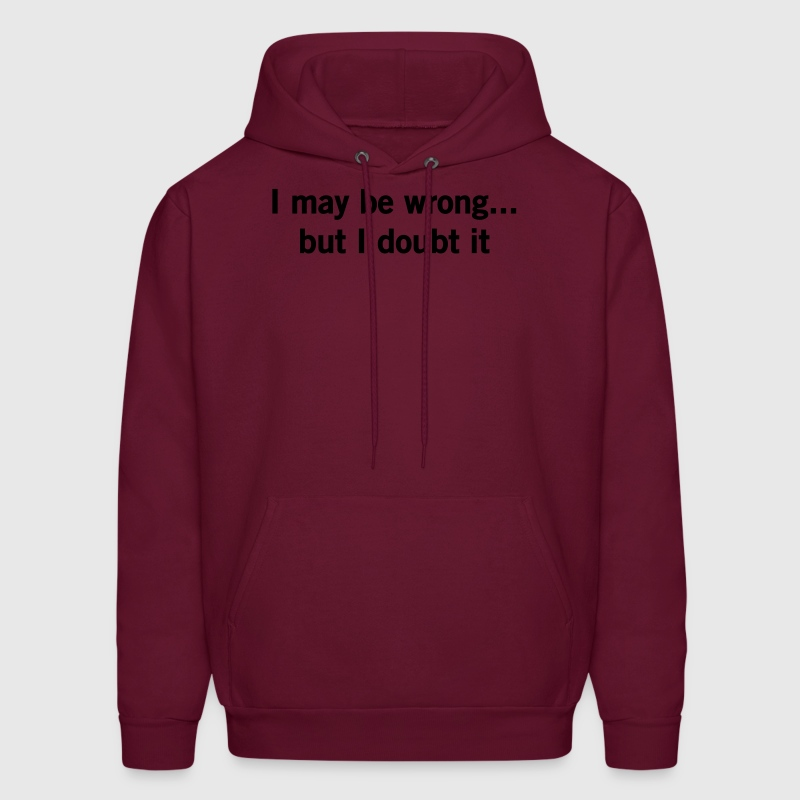 I may be wrong but I doubt it.  Hoodies - Men's Hoodie