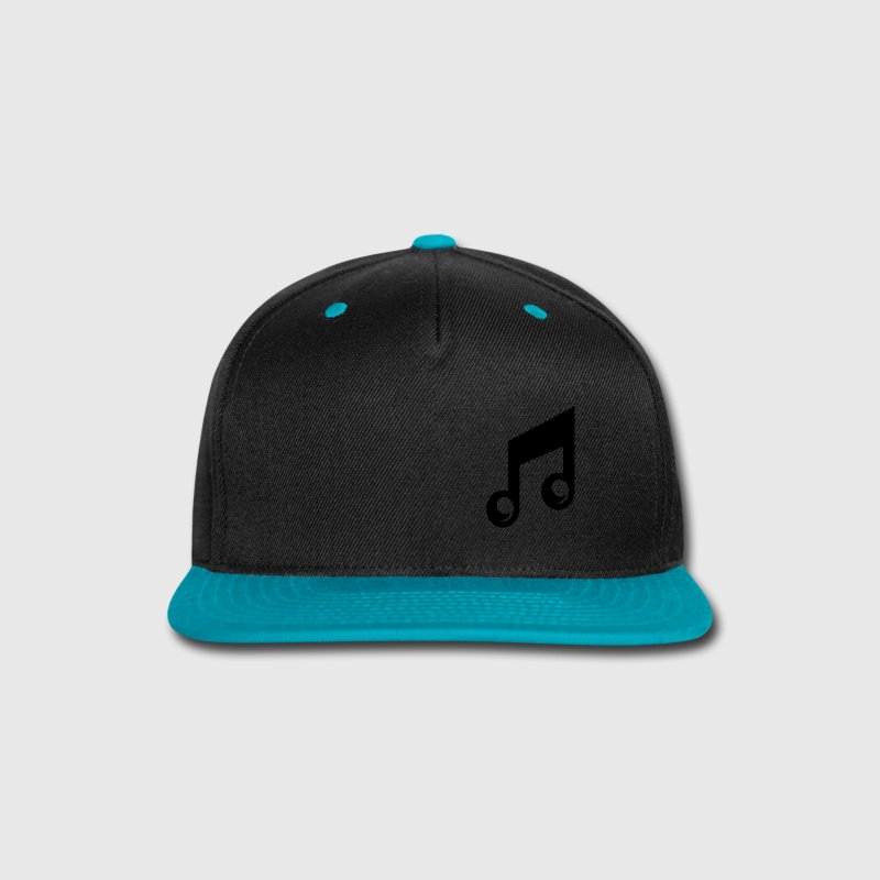 Music Note Caps - Snap-back Baseball Cap