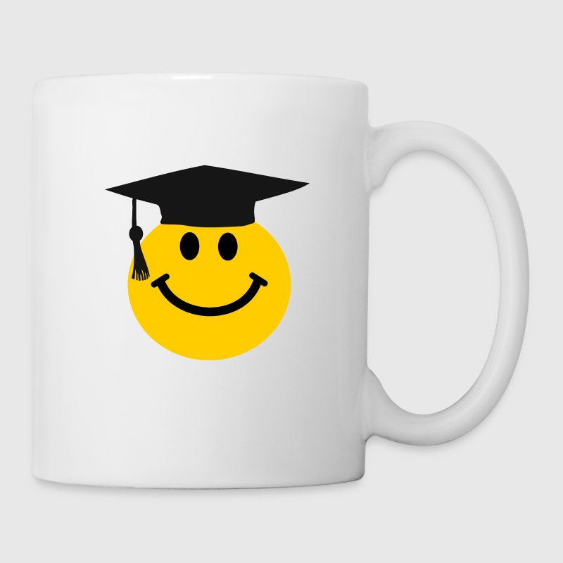 Graduate Smiley face Bottles & Mugs - Coffee/Tea Mug