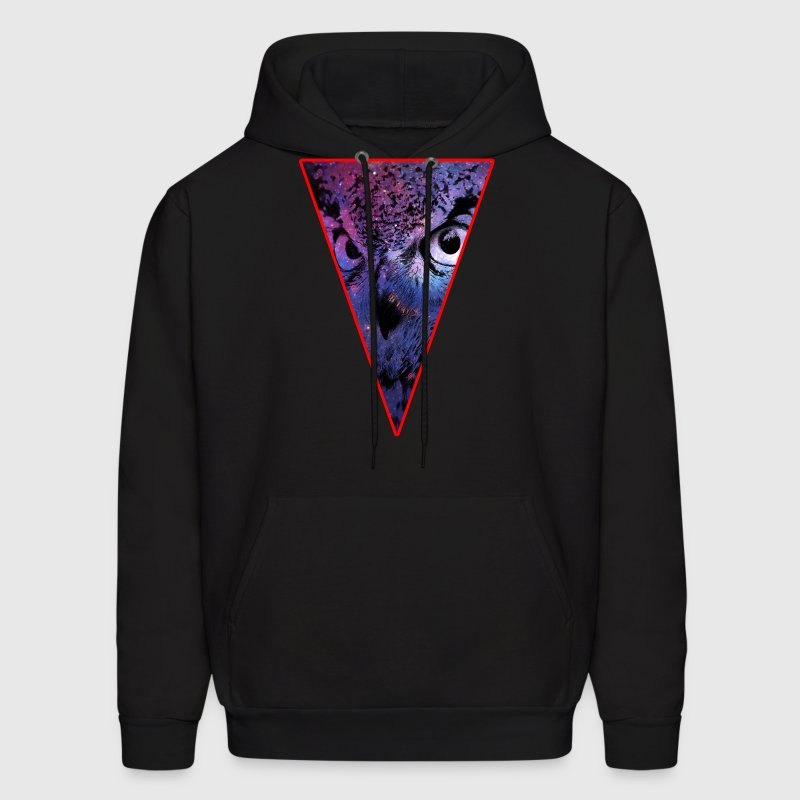 Triangle Owl - Bird - Hipster - Space - Cool Hoodies - Men's Hoodie