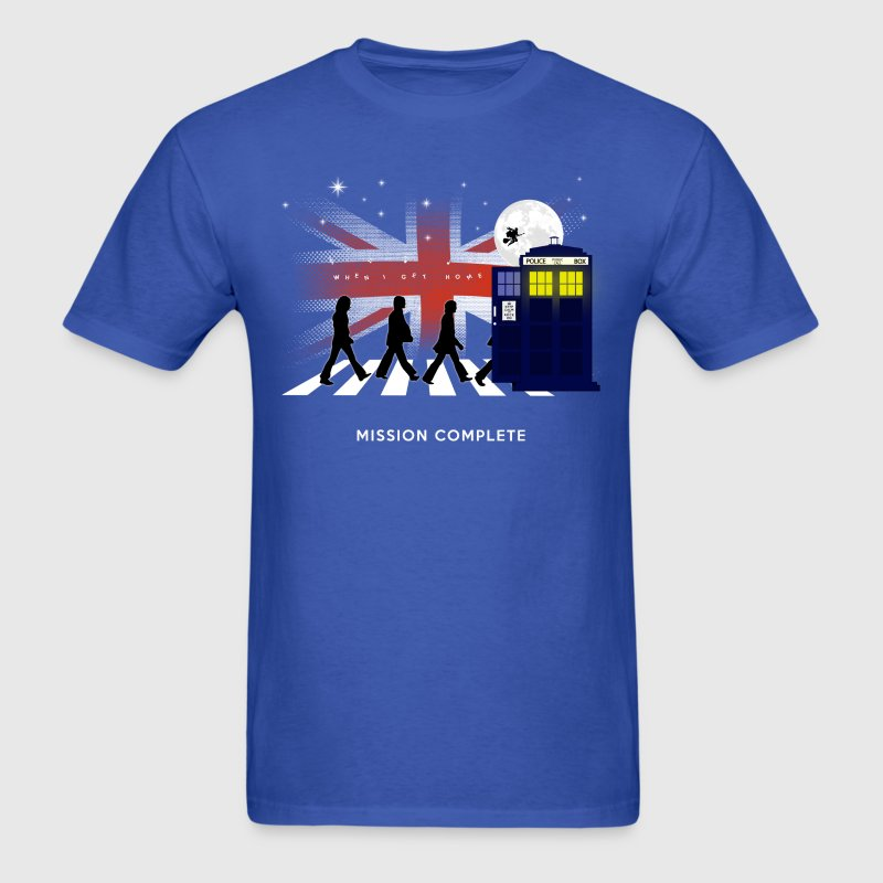 Doctor on Abbey Road - Men's T-Shirt