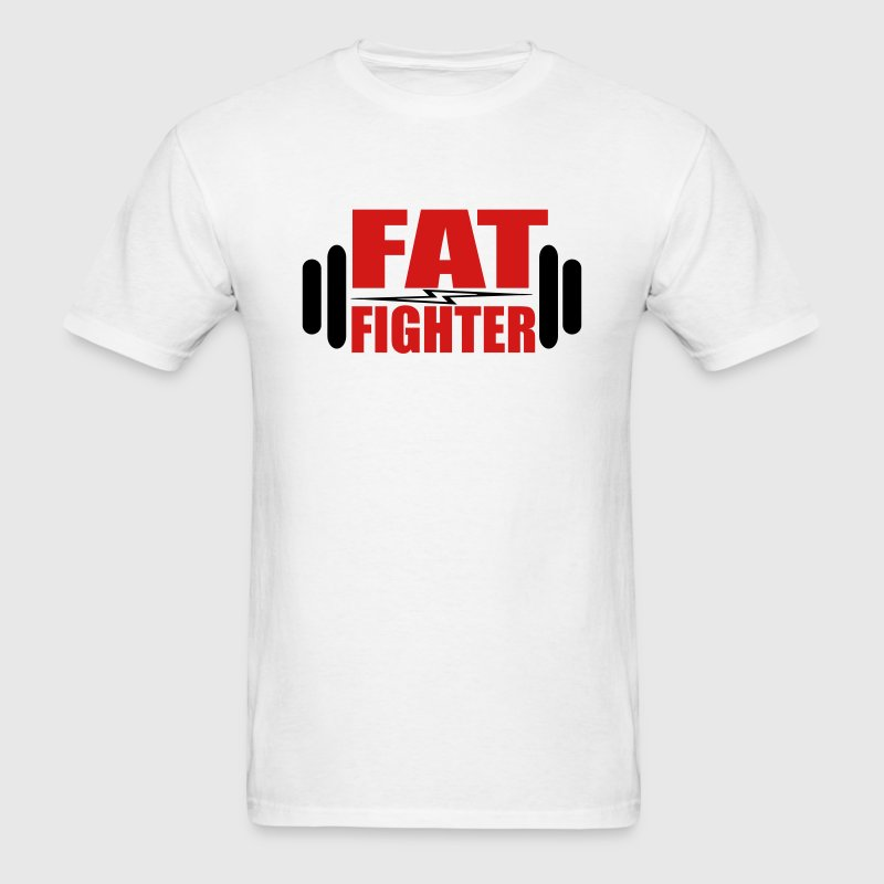 Fat Fighter - Men's T-Shirt