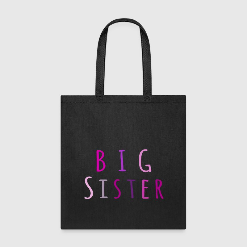 Big Sister in pink Bags & backpacks - Tote Bag
