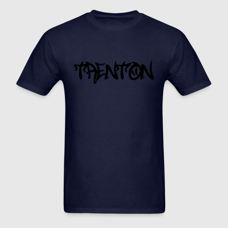 Trenton Graffiti T-Shirts - Men's T-Shirt
