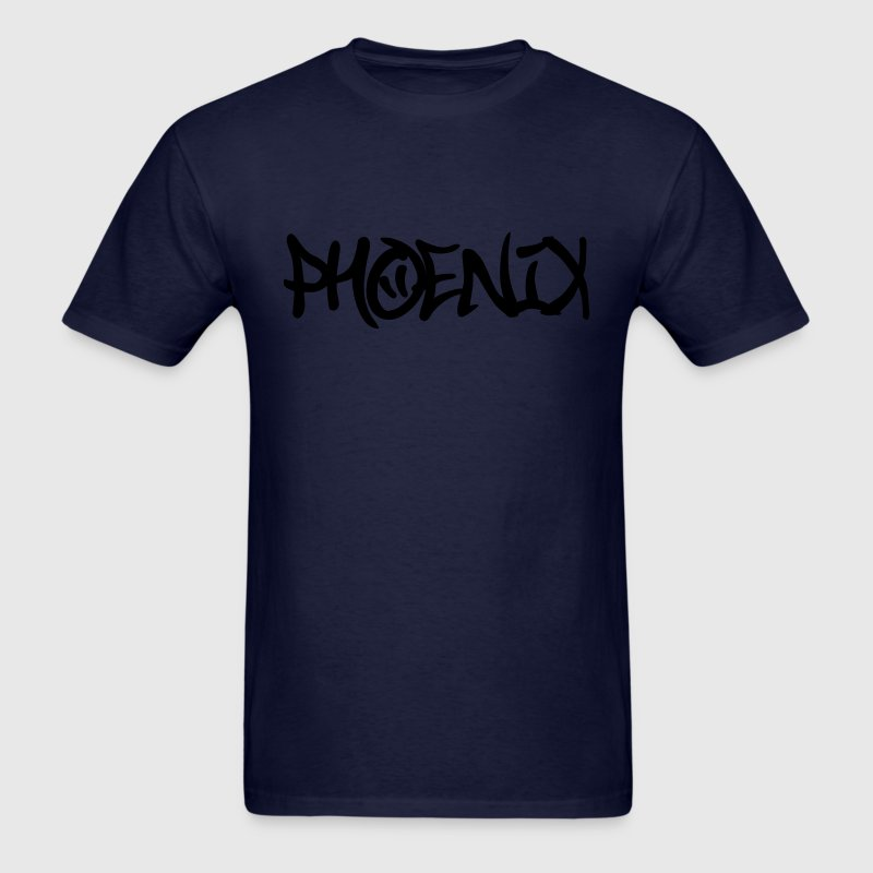 Phoenix Graffiti T-Shirts - Men's T-Shirt