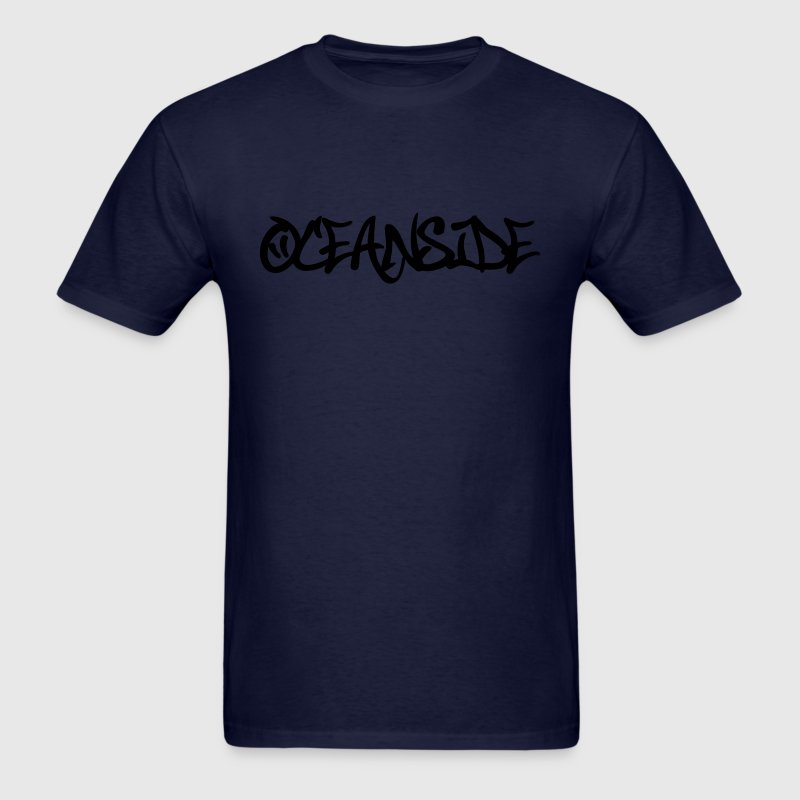 Oceanside Graffiti T-Shirts - Men's T-Shirt
