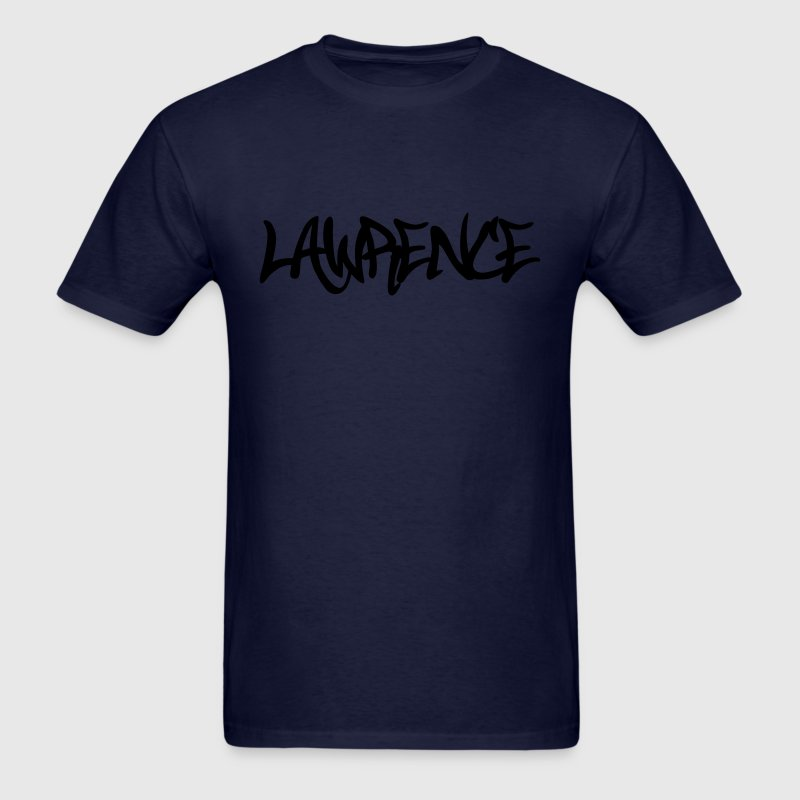 Lawrence Graffiti T-Shirts - Men's T-Shirt