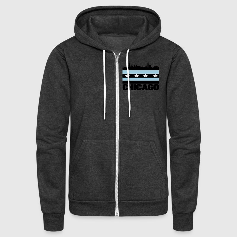 City of Chicago Zip Hoodies/Jackets - Unisex Fleece Zip Hoodie