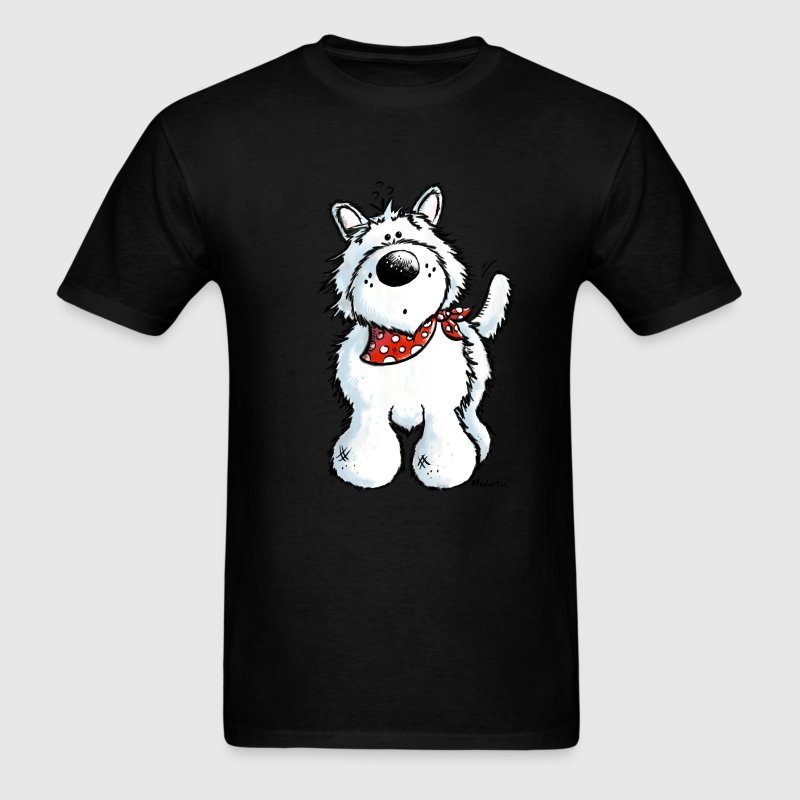 West Highland White Terrier - Westie – Dog T-Shirts - Men's T-Shirt