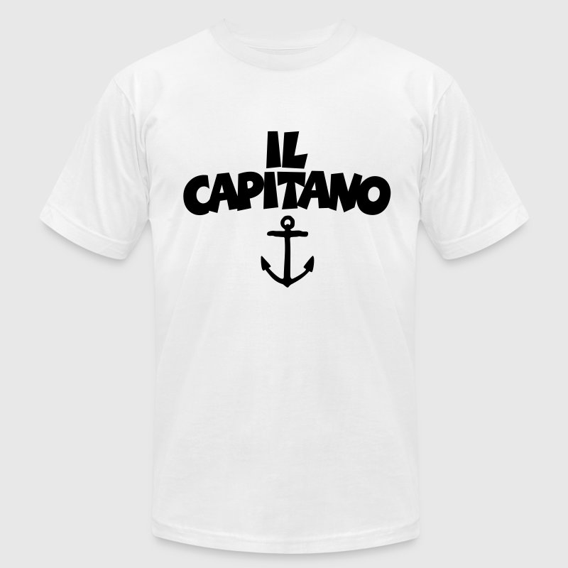 Il Capitano Anchor T-Shirt - Men's T-Shirt by American Apparel