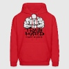 Train hard fight easy. Hoodies - Men's Hoodie