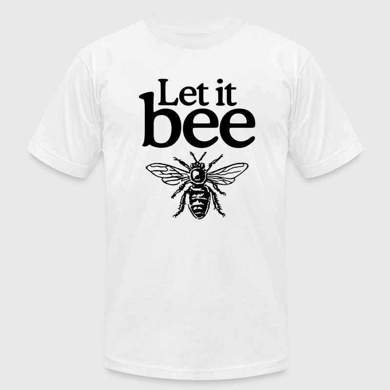 Let it bee t-shirt - Men's Fine Jersey T-Shirt