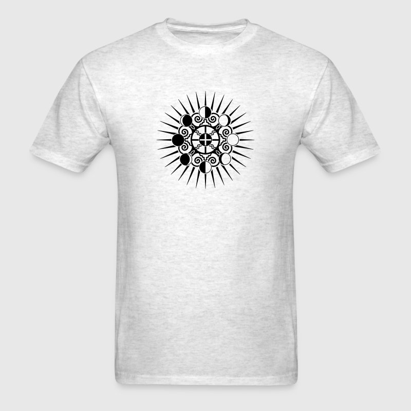 Moon Phases & Earth - Symbol change is stability T-Shirts - Men's T-Shirt