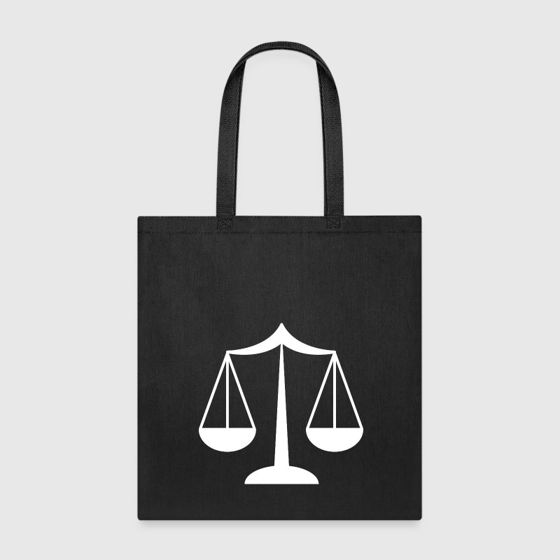Lawyer Scale of Justice Tote Bag - Tote Bag