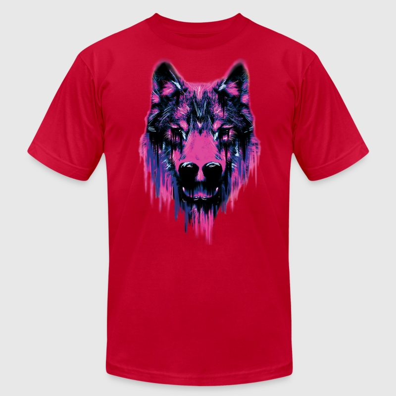 Wolf - Men's T-Shirt by American Apparel
