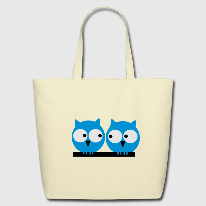 Two owls Bags & backpacks - Eco-Friendly Cotton Tote