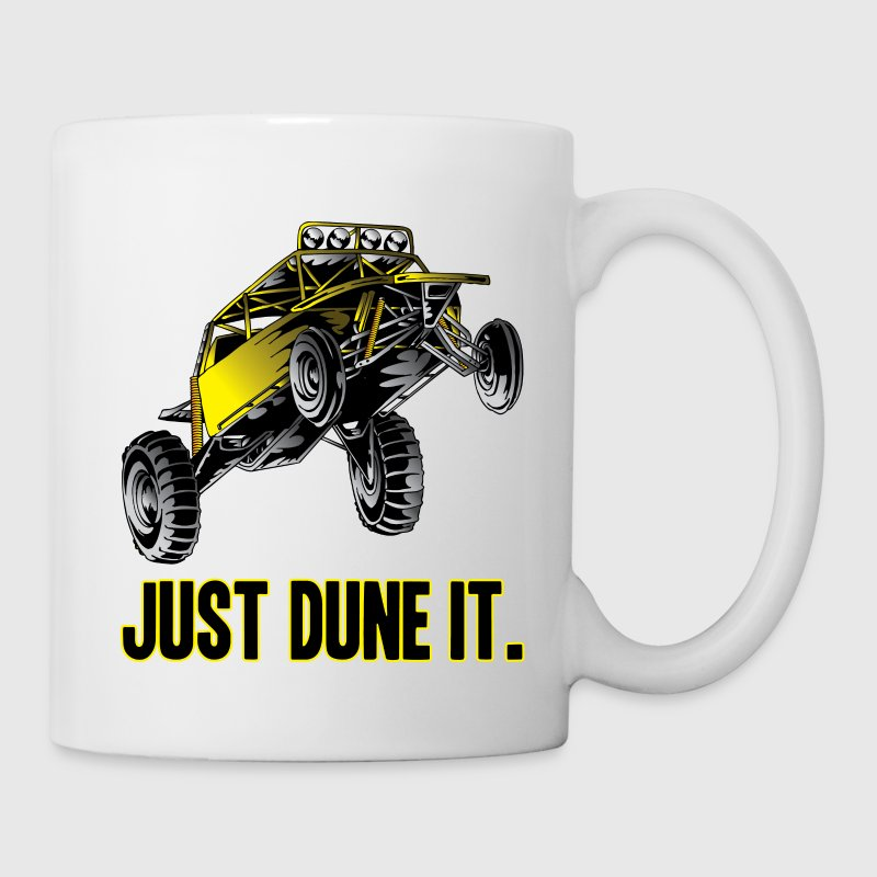 Just Dune It Dune Buggy Bottles & Mugs - Coffee/Tea Mug