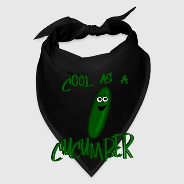 Cool As A Cucumber, Cartoon Cuke--DIGITAL DIRECT Bags & backpacks - Bandana