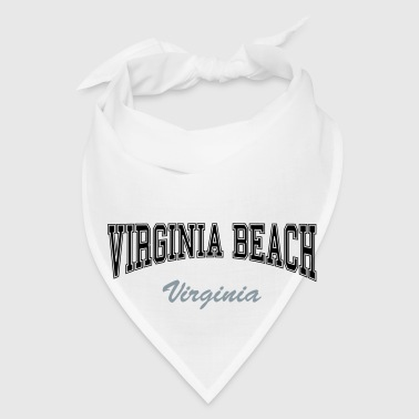 virginia beach college design Bottles & Mugs - Bandana