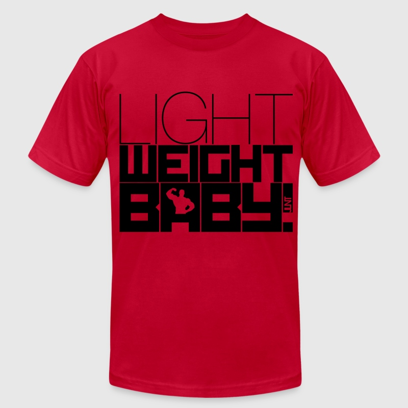 Light Weight Baby! T-Shirts - Men's T-Shirt by American Apparel