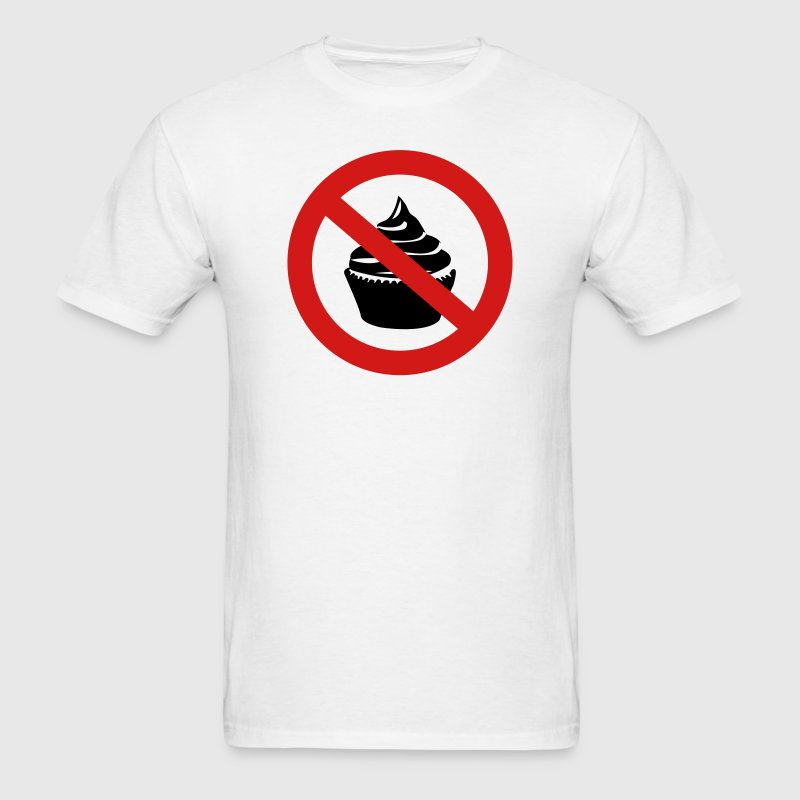 No Cupcakes T-Shirts - Men's T-Shirt