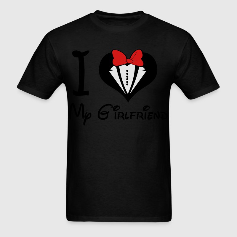 I LOVE My GirlFriend (M) - Men's T-Shirt