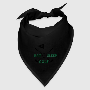 eat sleep golf (2c) Bags & backpacks - Bandana