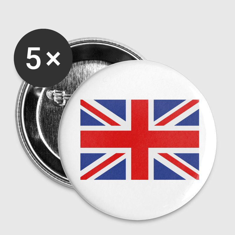 union jack english flag Buttons - Large Buttons