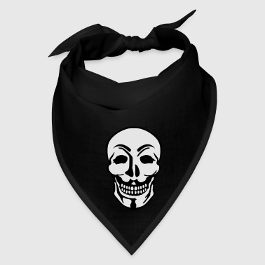 Anonymous and skull pirate symbol Bags & backpacks - Bandana