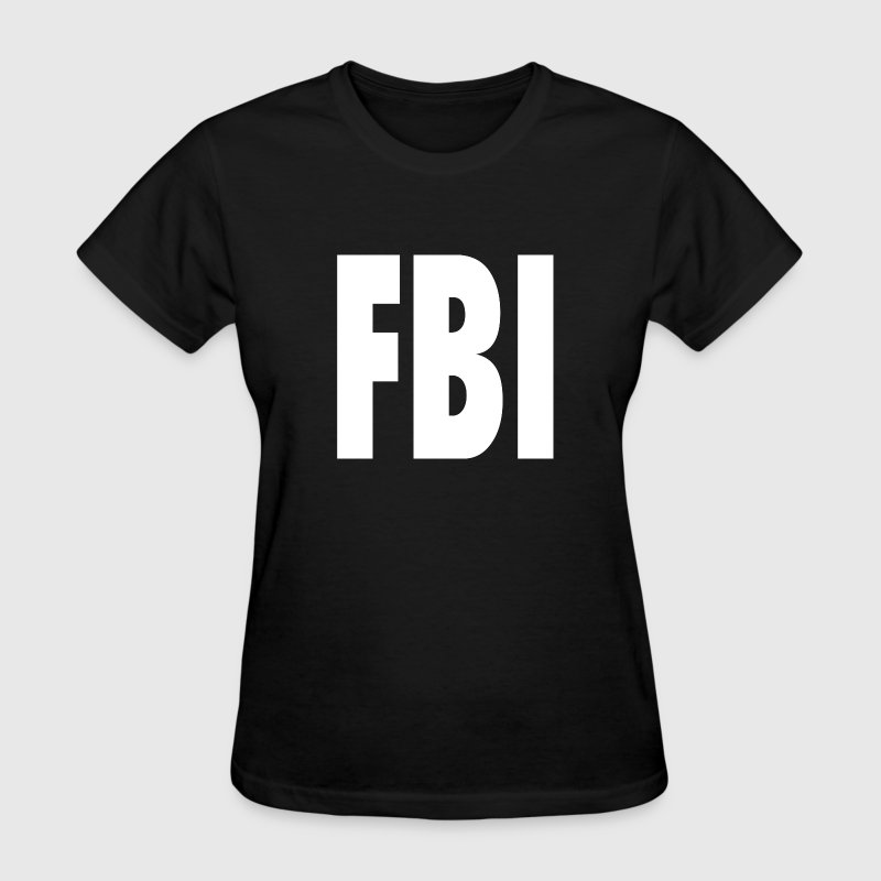 FBI Shirt Design Women's T-Shirts - Women's T-Shirt