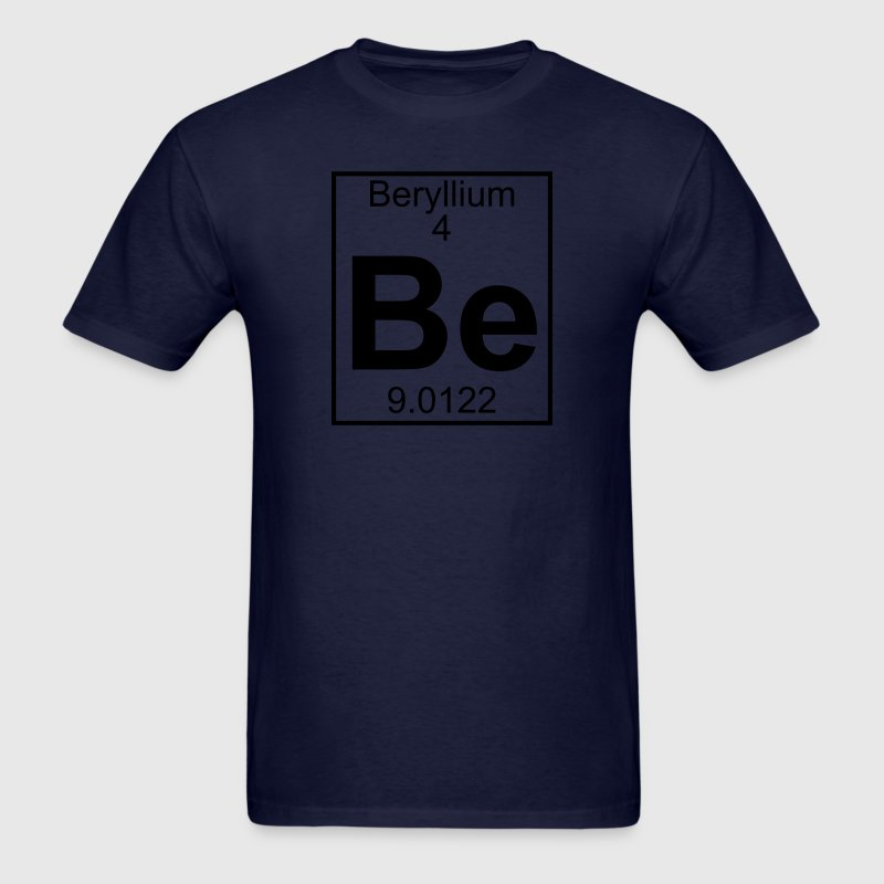 Element 4 - Be (beryllium) - Full T-Shirts - Men's T-Shirt